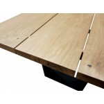 WOOD AND METAL TABLE - CASA OUTLET